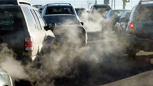 Выхлопы красноярских машин отравляют город