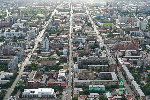 Панорама Красноярска