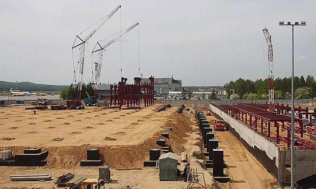 Строительство аэропорта Красноярска