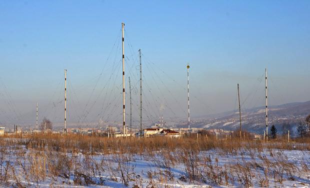 берег академгородок антенное поле