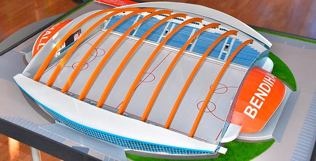 Проект стадиона Енисей