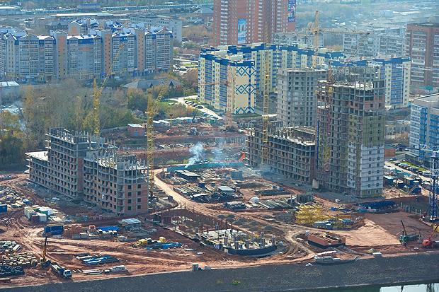 В красноярске упали продажи квартир