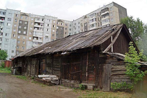 Техническая Красноярск бараки