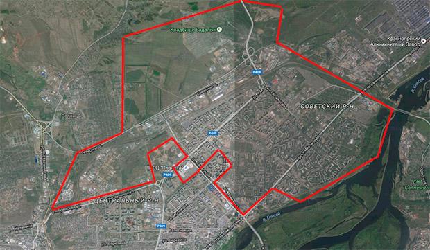 Северо-Восточный район Красноярск