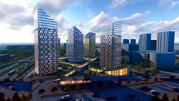 Комплекс зданий на Взлетке