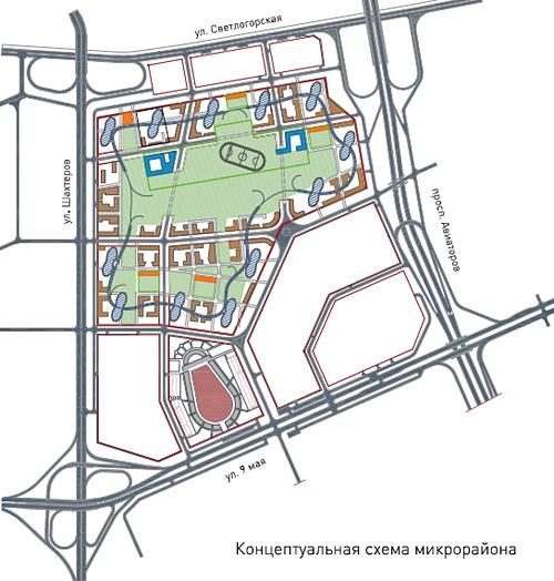 Красноярск: концептуальная