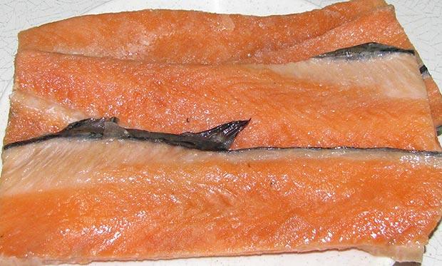 Как засолить хребет лосося в домашних условиях рецепт с фото