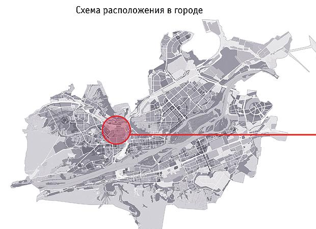 Мкрн на карте