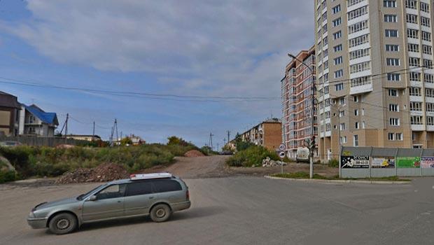 Дорога в Покровском