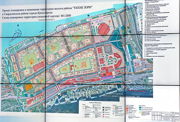 Проект планировки Тихих зорь