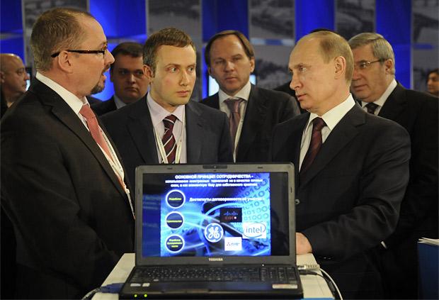 Владимир Путин прилетел в Красноярск