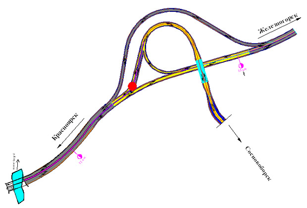 Схема транспортной развязки