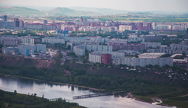 Зеленая Роща Красноярск