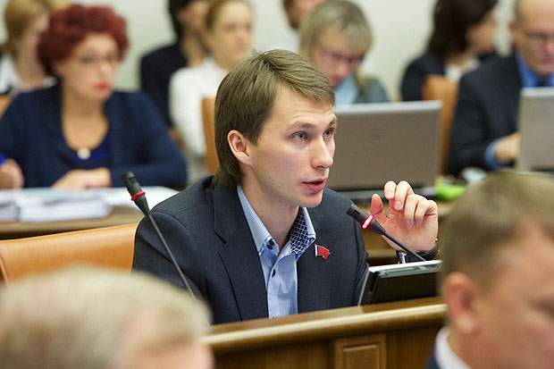Депутат Владимир Седов Красноярск