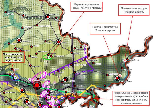 ...слушания, касающиеся проекта территориального зонирования и планировки части земель Шуваевского сельсовета.