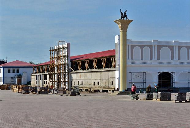 Городок Сибирской губернии