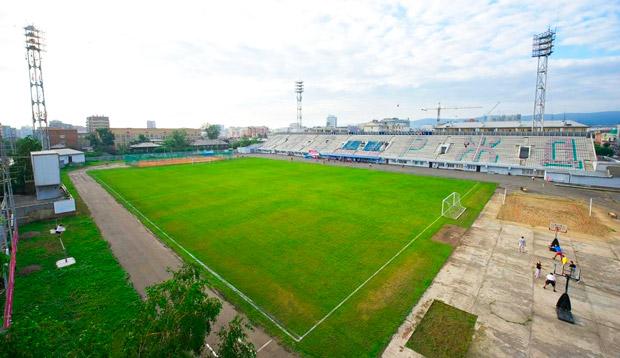 Стадион Локомотив Красноярск