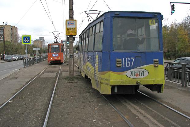 Денег на новые трамваи нет