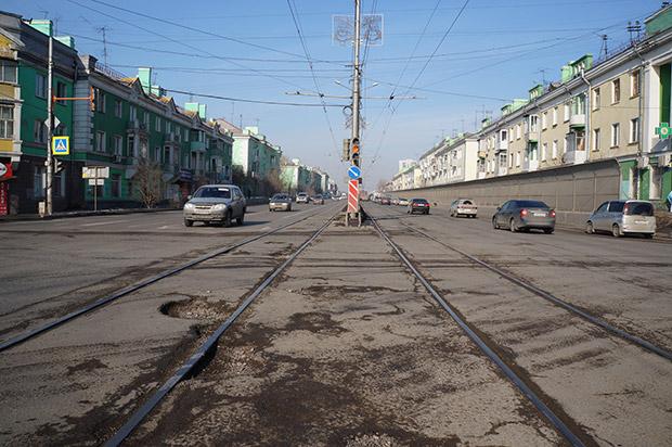 Ямы в Красноярске
