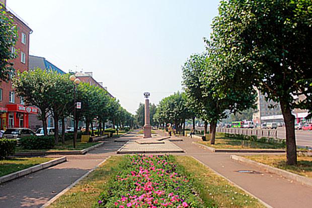 Направобережье Красноярска обновят скверы
