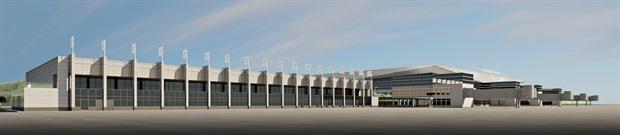 Обновление старого терминала аэропорта Красноярска