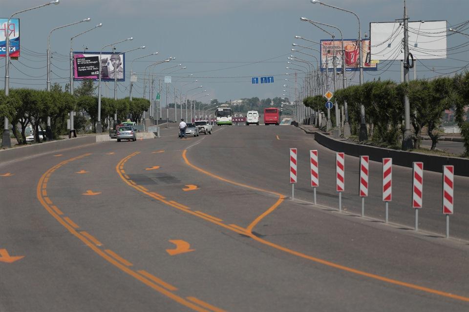 Коммунальный мост ремонтируют