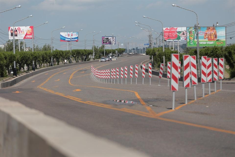 Мост Коммунальный на ремонте