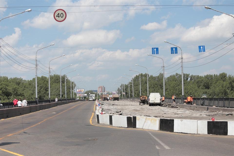 Мост Коммунальный летом