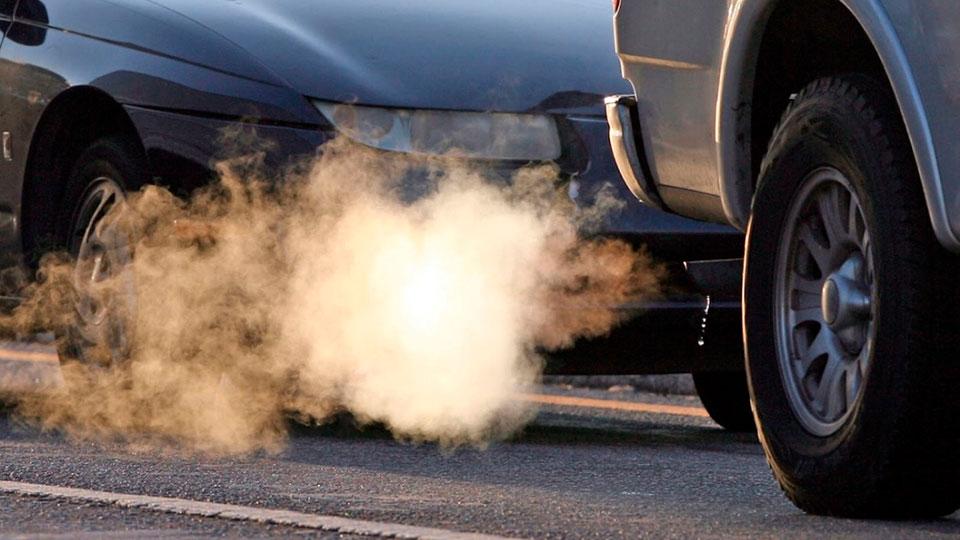 Выхлопные газы машин