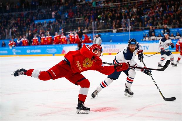 Матч Россия- США