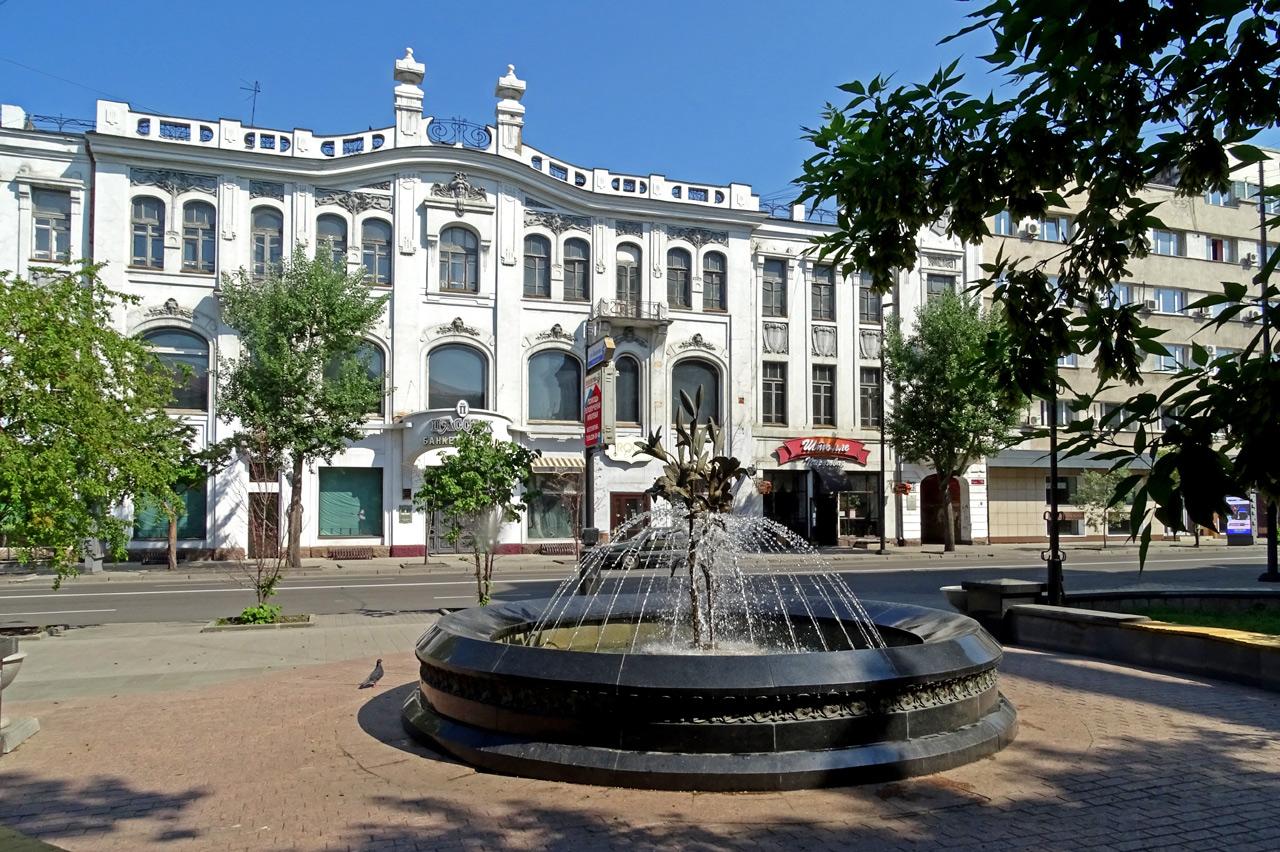 Проспект Мира в Красноярске