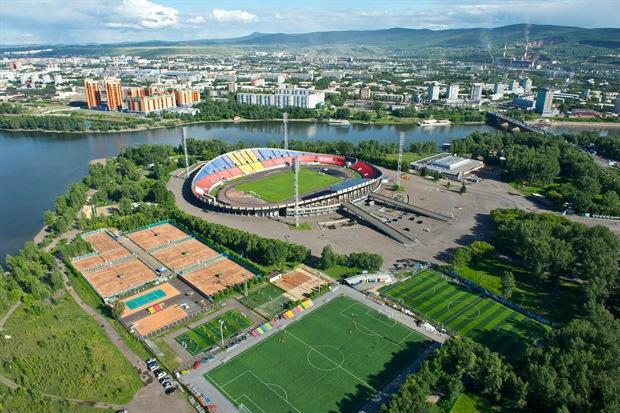 Центральный стадион Красноярск