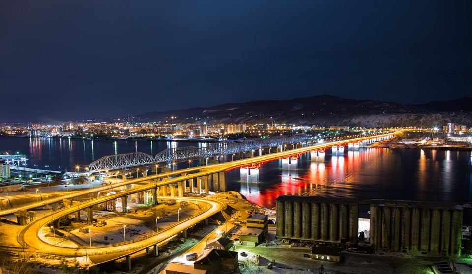 Четвертый мост Красноярск