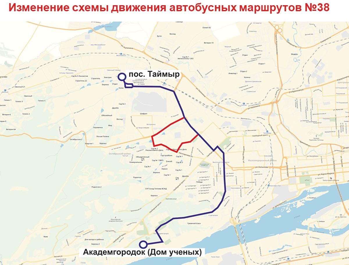 Схема маршрутов автобусов красноярск фото 733