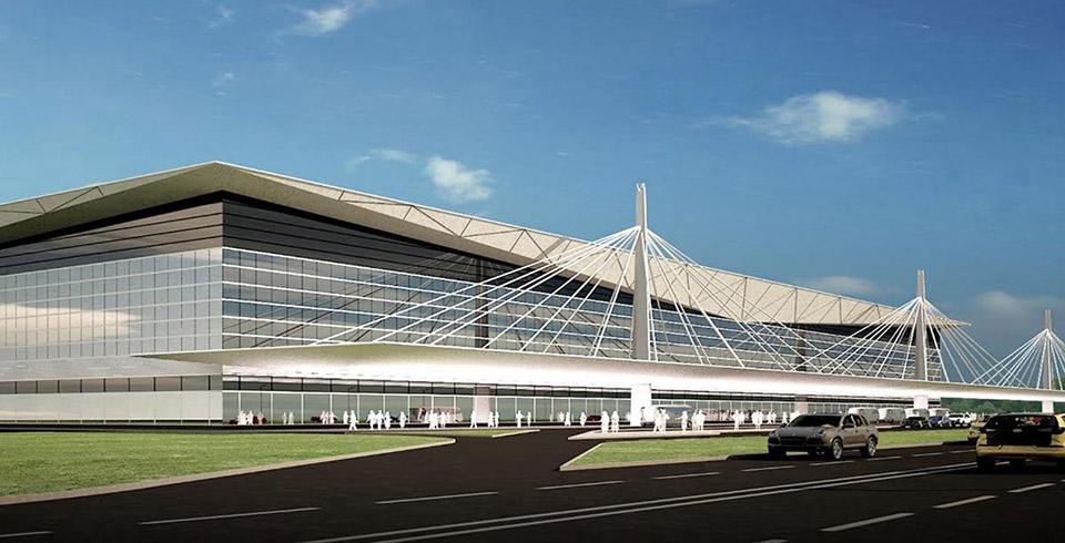 эскизная концепция аэропорт Емельяново