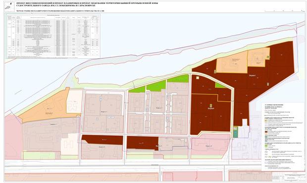 Новый проект планировки Южного берега