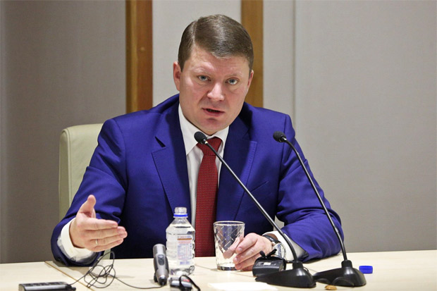 Сергей Еремин мэр Красноярск