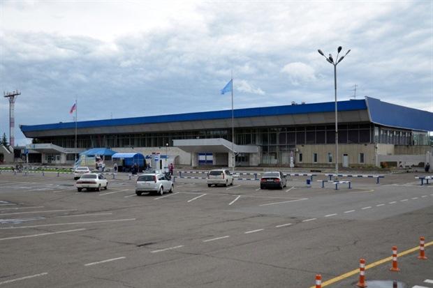 Старый терминал аэропорта Красноярска
