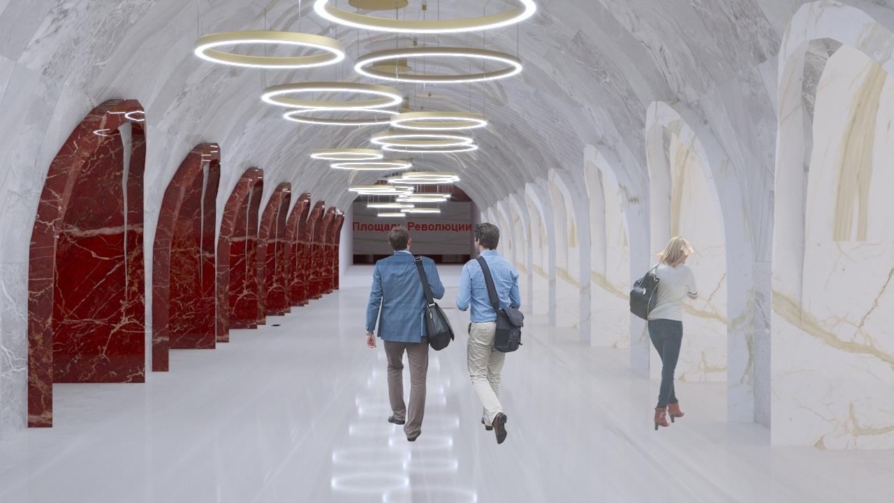 Станция метро Красноярск