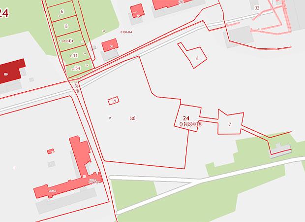 карта берег академгородок