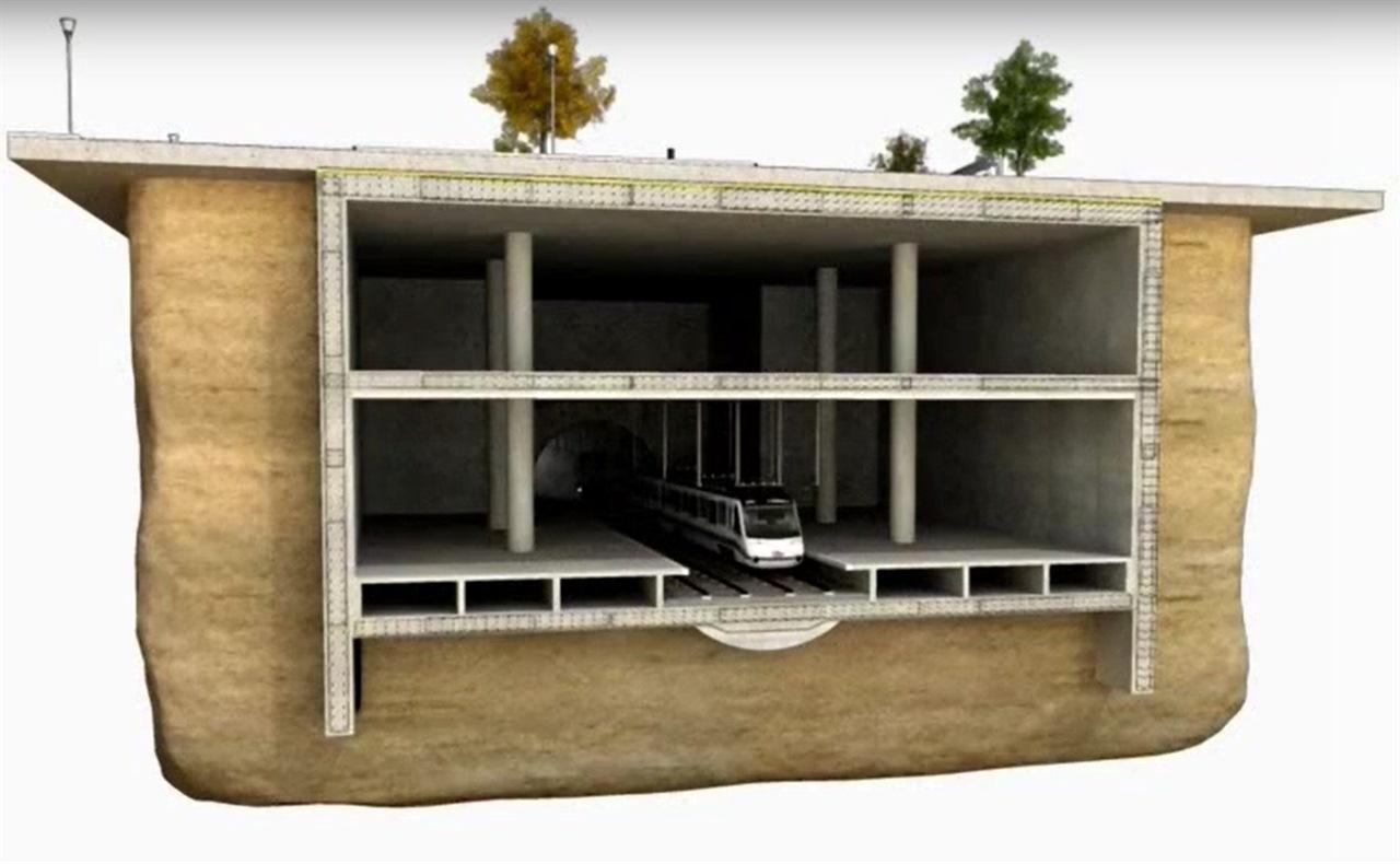 Испанский метод строительства метро