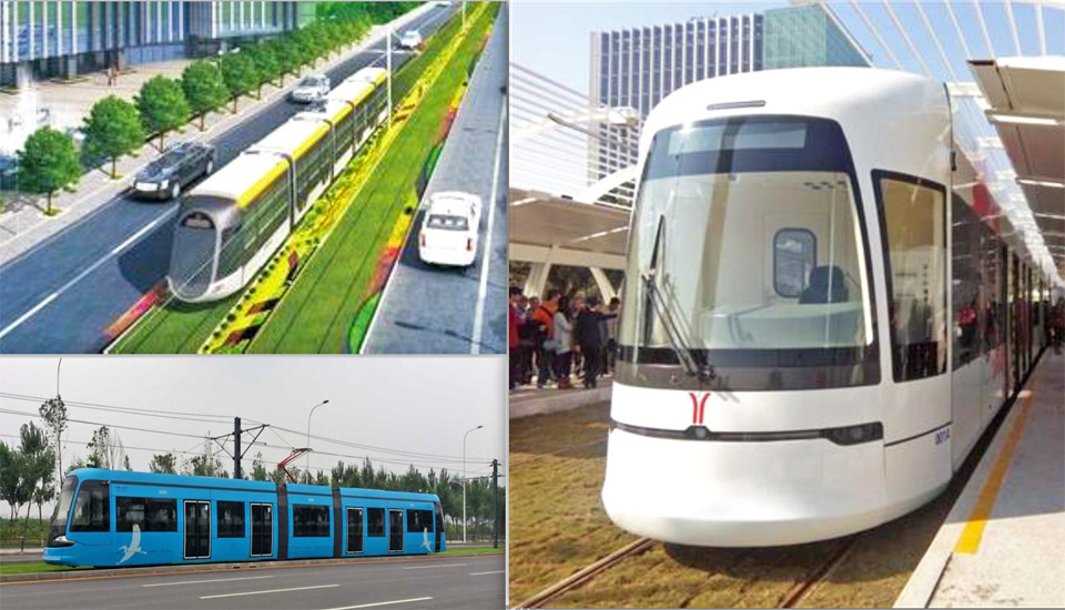 Скоростной трамвай Китай Красноярск предложение
