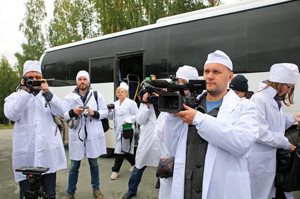 Железногорцы посетили хранилище радиоактивных отходов в Новоуральске
