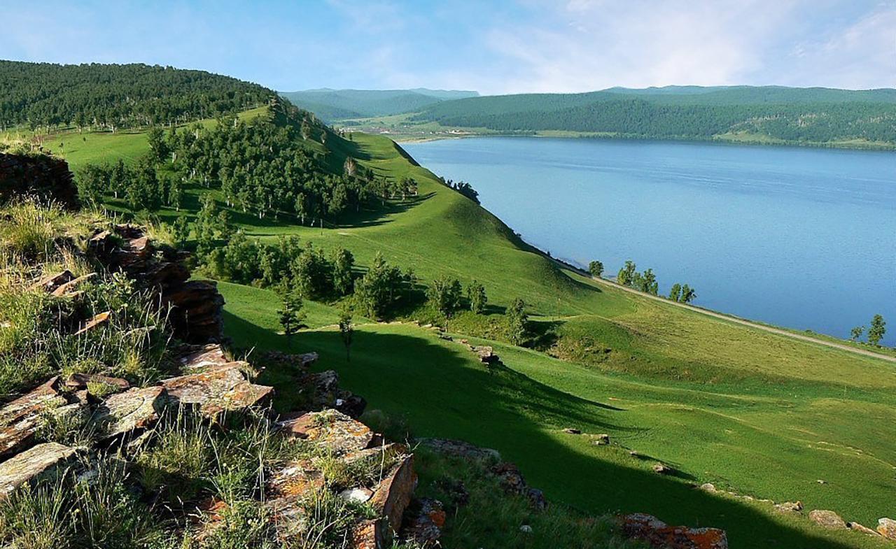 озеро большое красноярский край фото вот