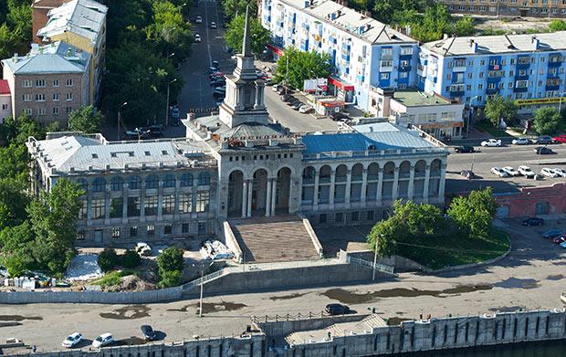речной вокзал Красноярск