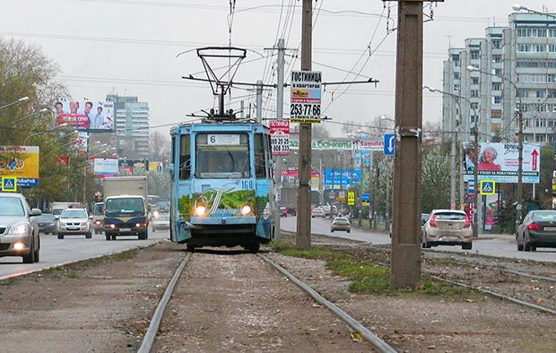 Трамвай Красноярск