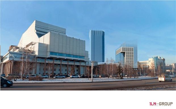 комплекс на площади Мира Красноярск